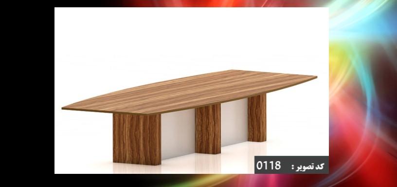 میز کنفرانس mdf 24 نفره کلاسیک
